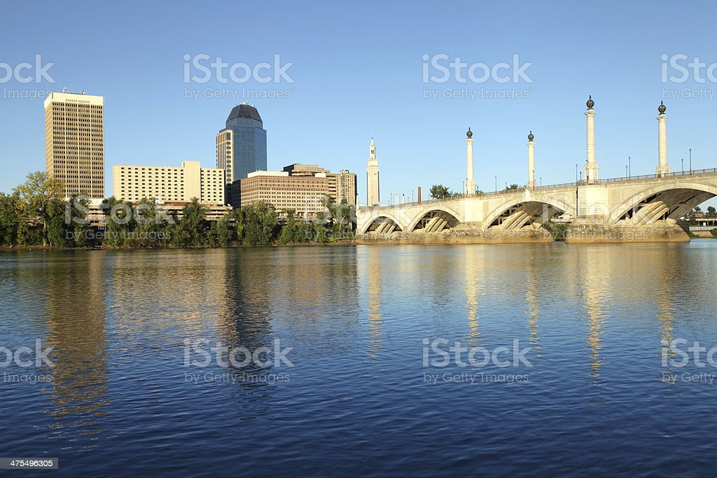 Springfield, Massachusetts stock photo