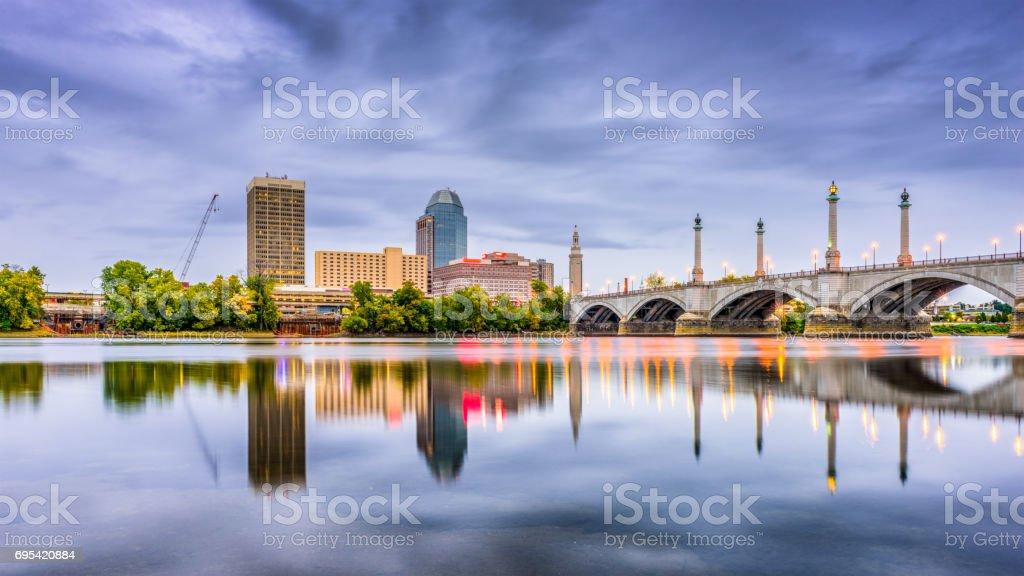 Springfield, Massachusetts, USA stock photo