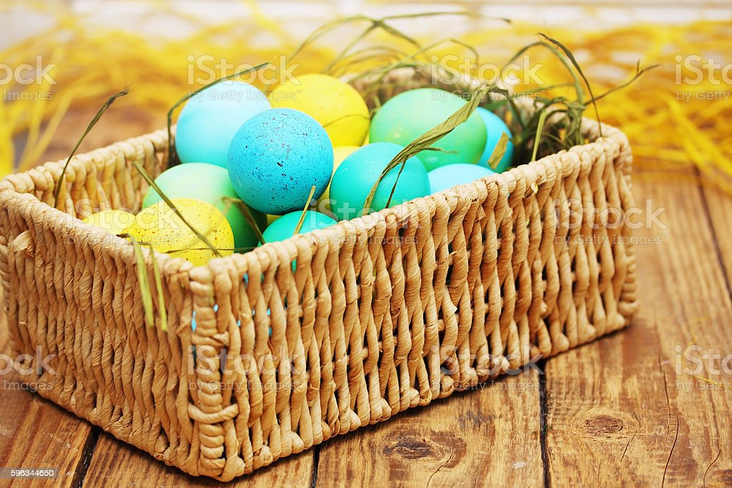 springs Easter still life royalty-free stock photo