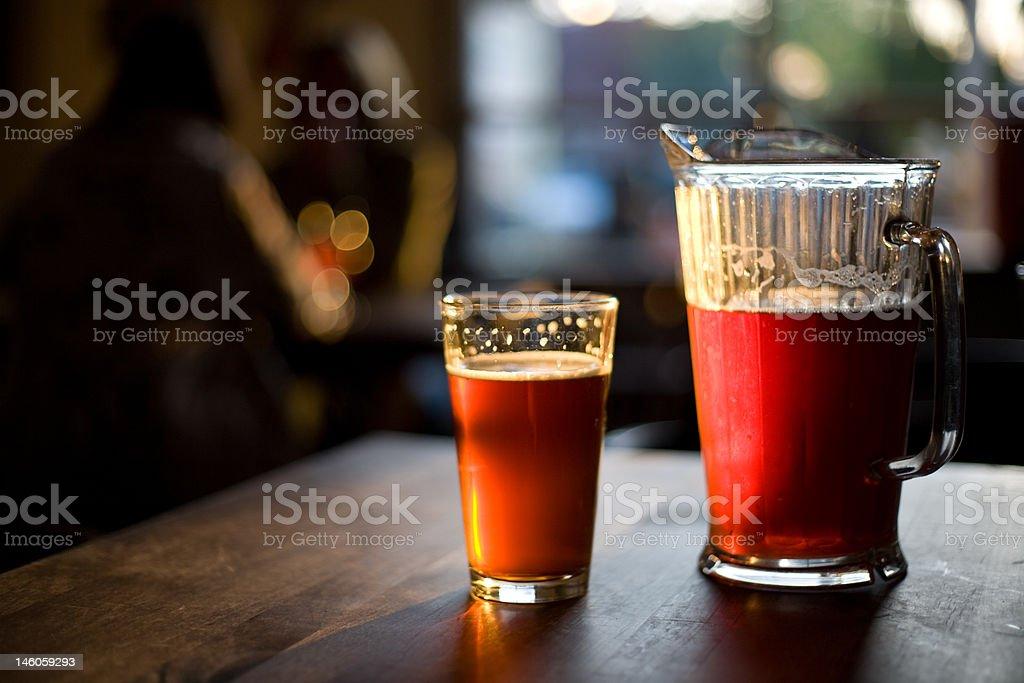 Frühling in einer Brauerei - Lizenzfrei Abenddämmerung Stock-Foto