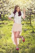istock Springtime Girl 519336132