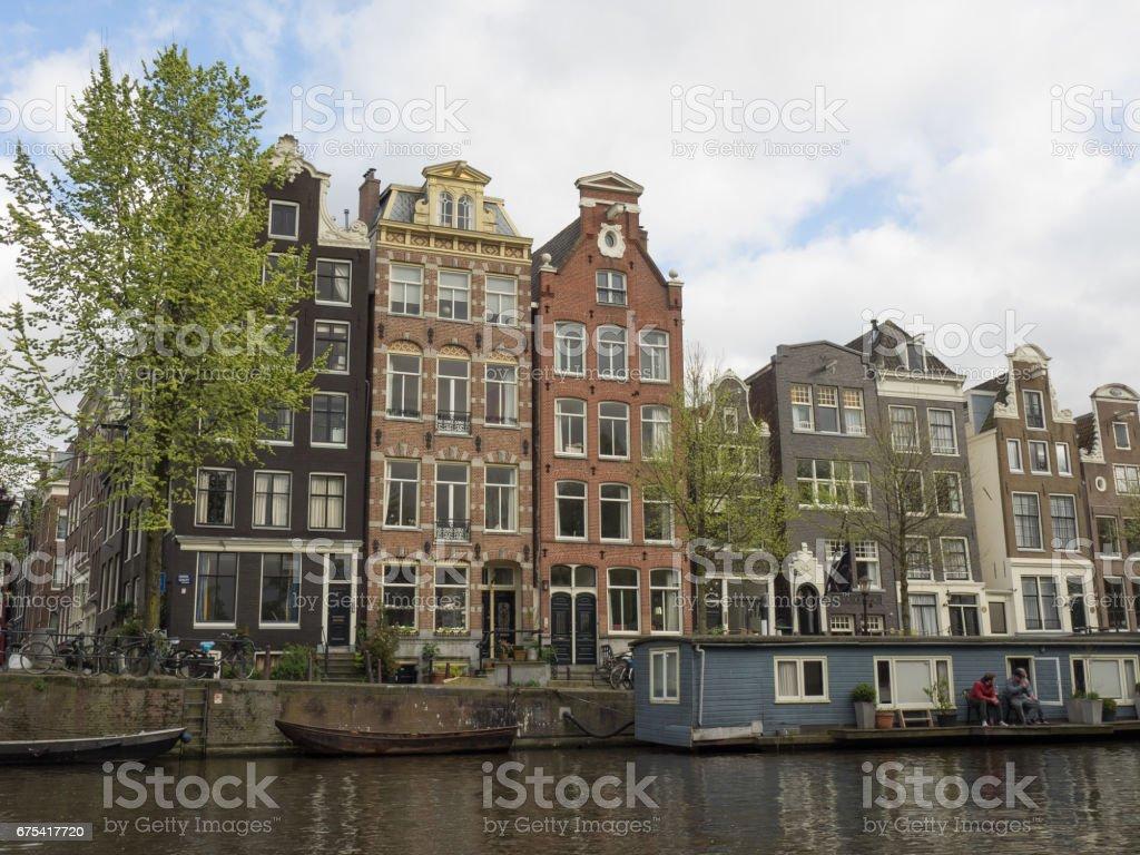 springtime in amsterdam photo libre de droits