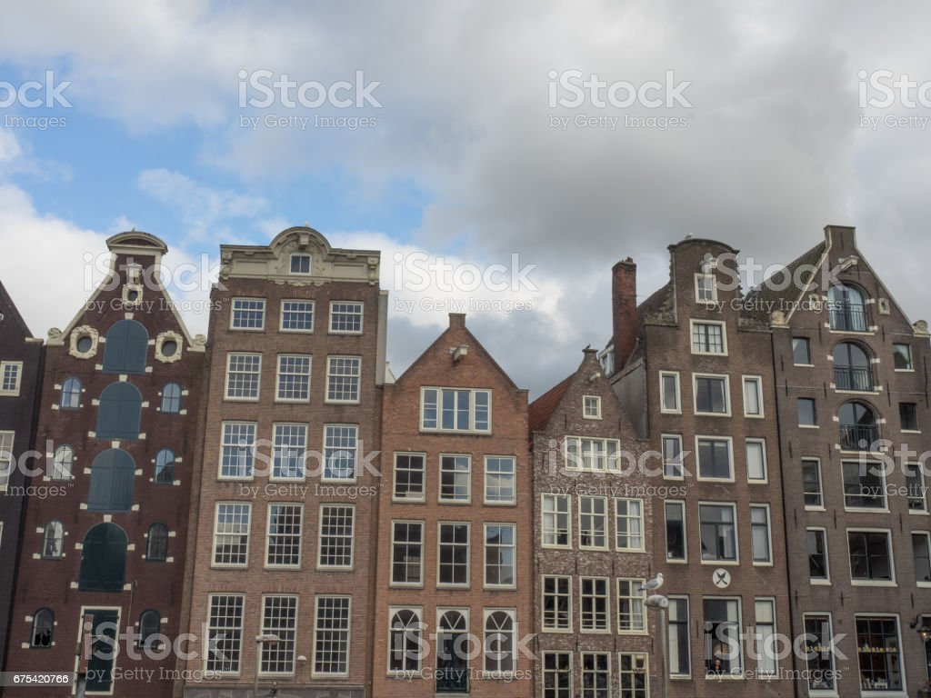 springtime in amsterdam photo libre de droits