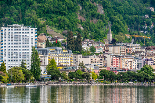 Springtime in Montreux, Switzerland