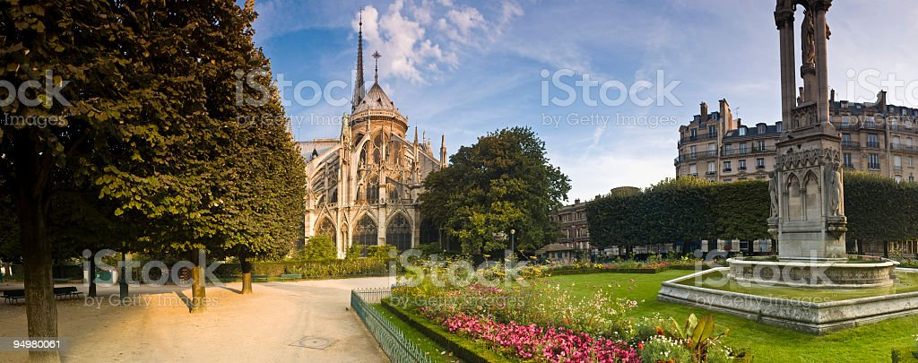 Springtime in Paris royalty-free stock photo