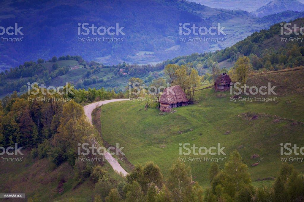Springtime in Transylvania royalty-free 스톡 사진