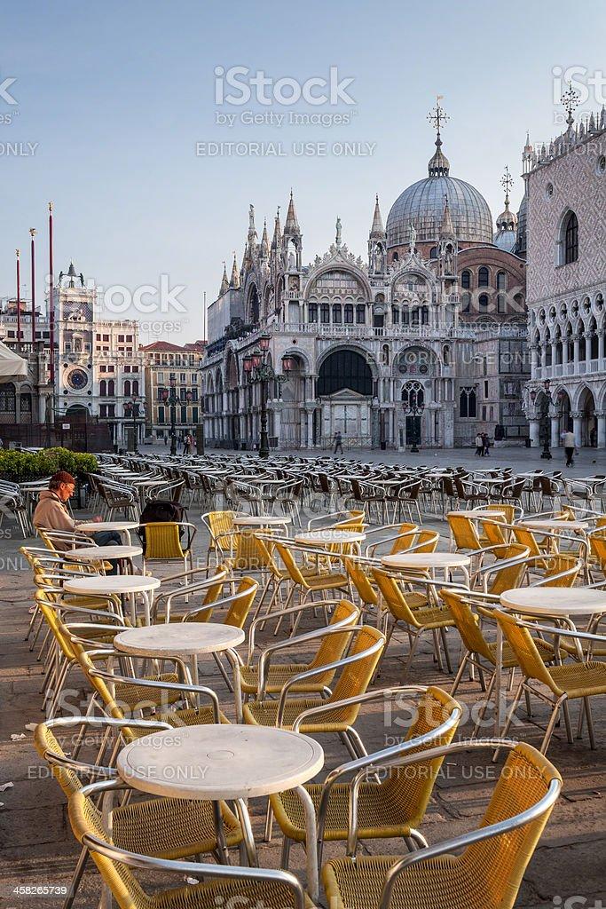 Springtime in Venice, Italy stock photo