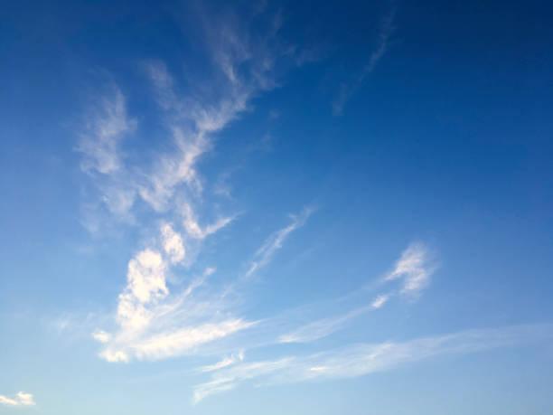 Springtime sunny day cloudscape in São Paulo, Brazil stock photo