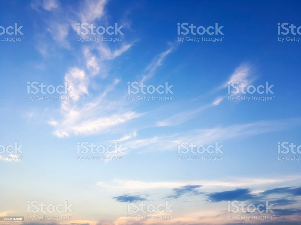 Frühling Sonnentag Wolkengebilde in São Paulo, Brasilien – Foto