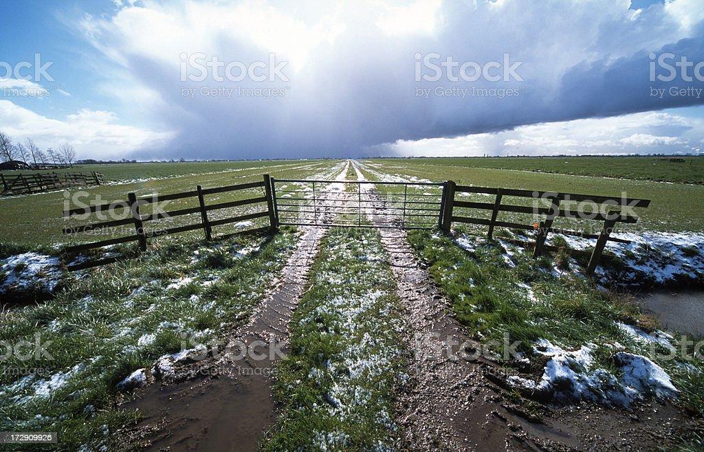 Springtime thaw royalty-free stock photo