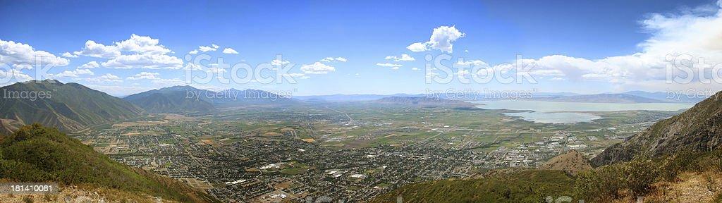 Springville Utah stock photo