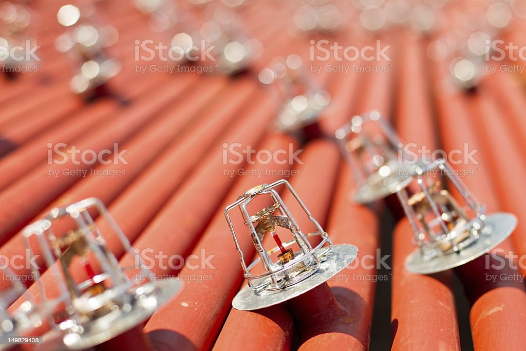 Sprinkler Heads - Royalty-free Close To Stock Photo