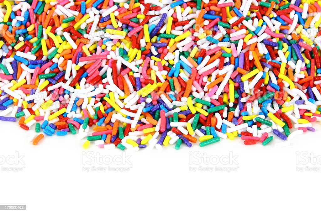 Sprinkles -01 royalty-free stock photo