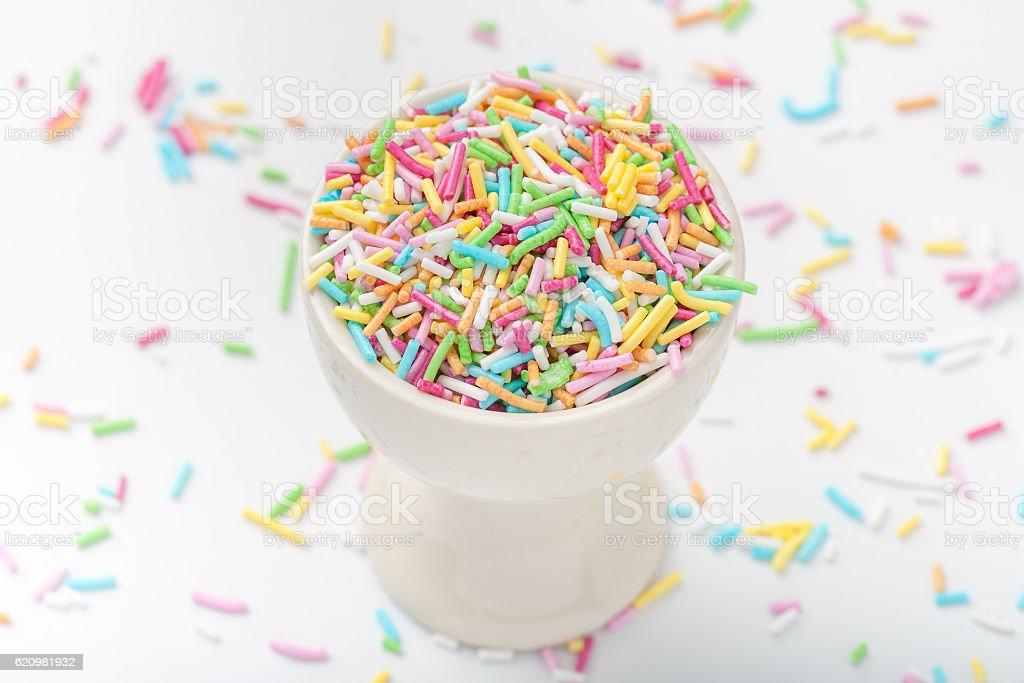 Sprinkles in a cup foto royalty-free