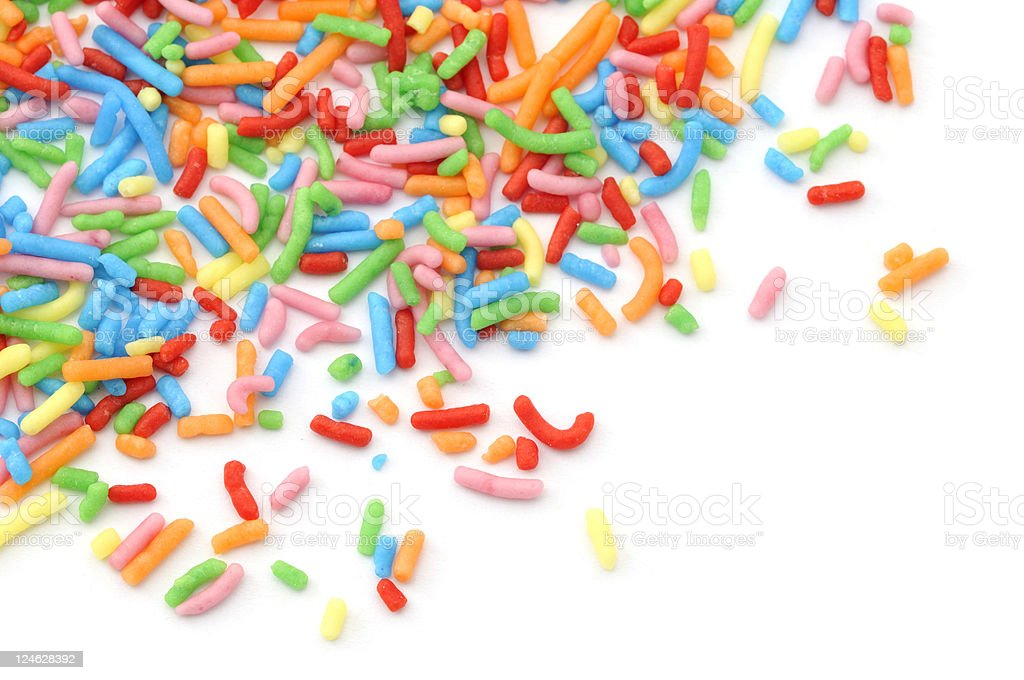 Sprinkles of Colour royalty-free stock photo