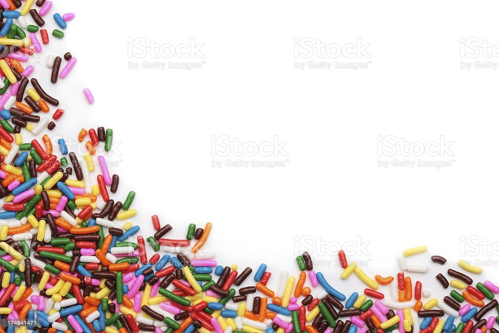 Sprinkles stock photo