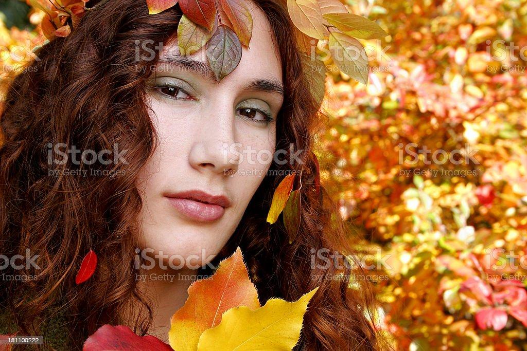 Spririt of Fall royalty-free stock photo