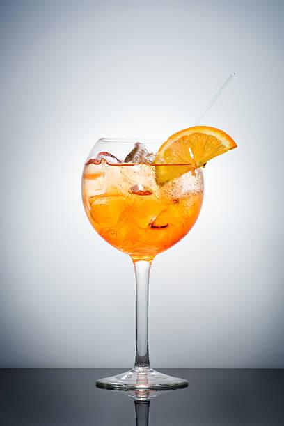 Spritz Cocktail stock photo