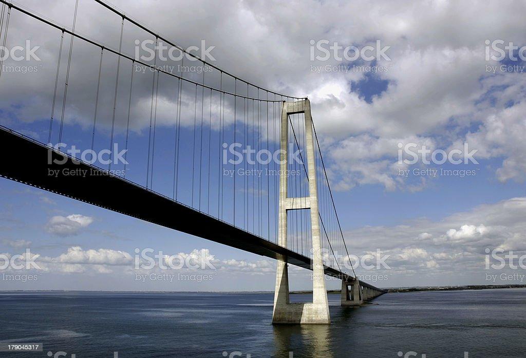 Sprogo Bridge royalty-free stock photo