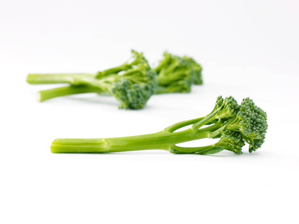 sprouting broccoli stock photo