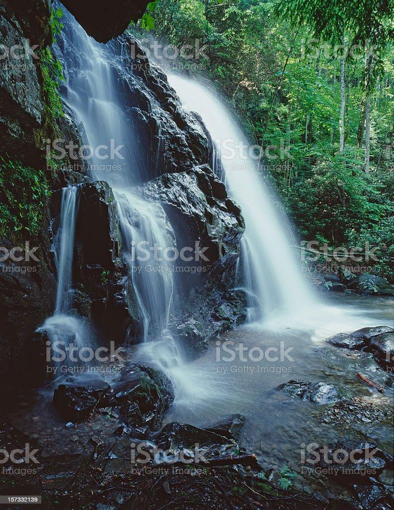Spruce Flat Falls (XXL) royalty-free stock photo