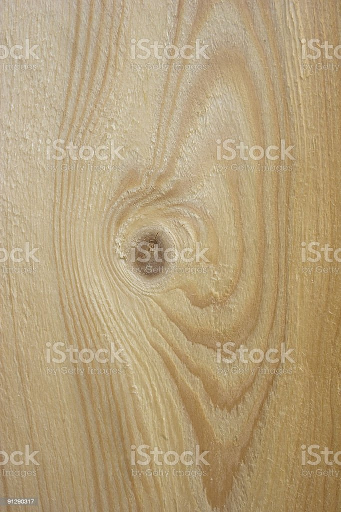 Spruce Natural Wooden Board royalty-free stock photo