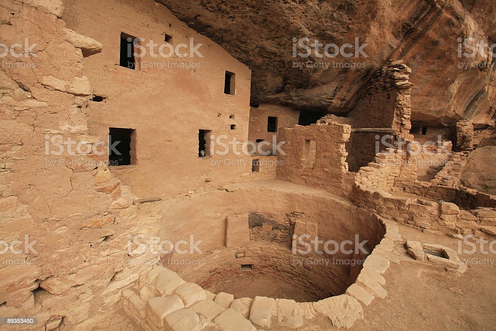 Spruce Tree House, Mesa Verde National Park royalty-free stock photo