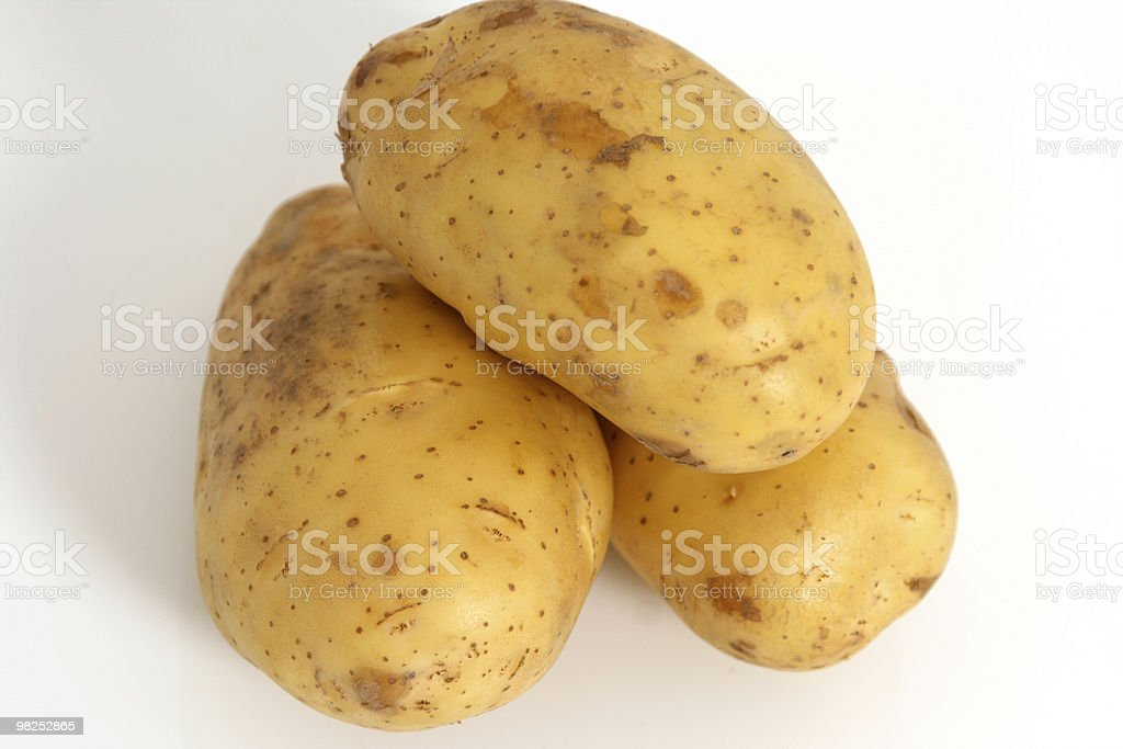 Spuds royalty-free 스톡 사진