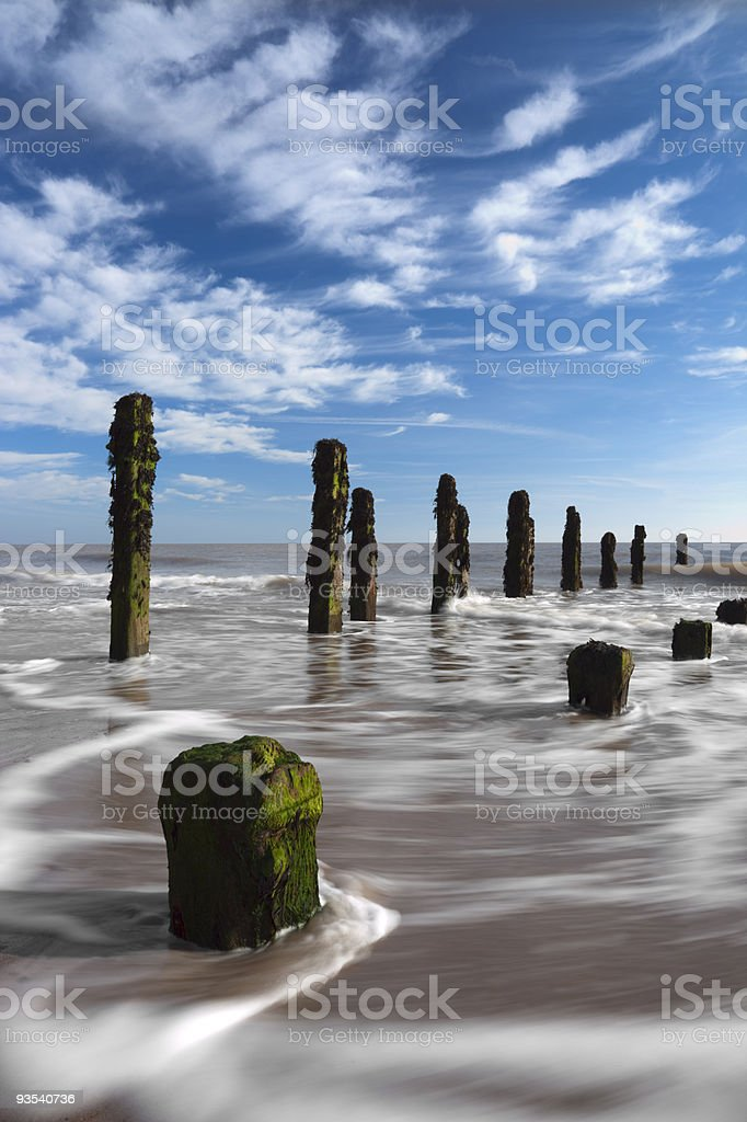 Spurn Point stock photo