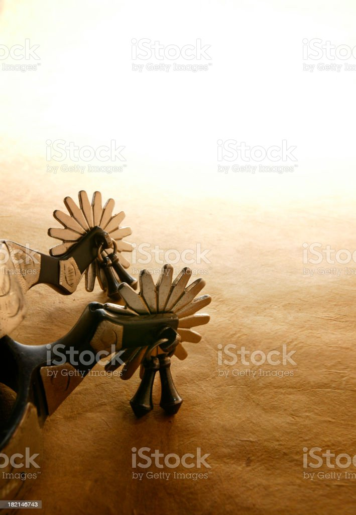 Spurs From American West royalty-free stock photo