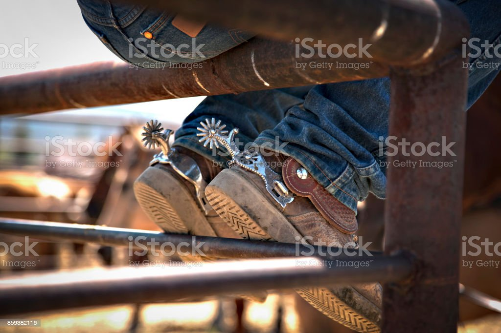 spurs stock photo