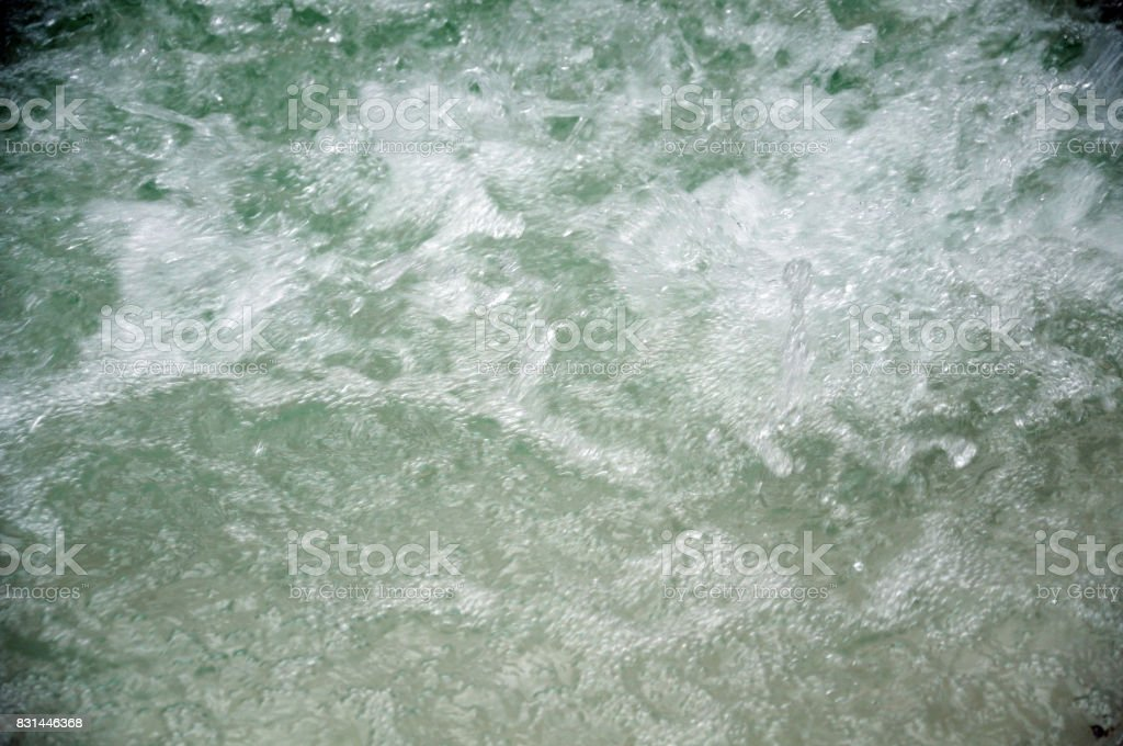sputtering water stock photo