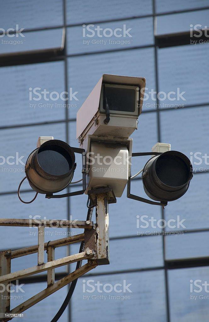 Spy Cameras - Big Brother watching us. stock photo