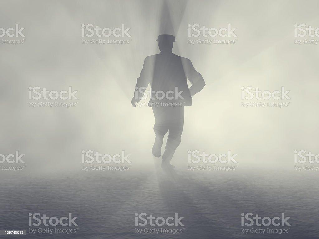 spy man stock photo