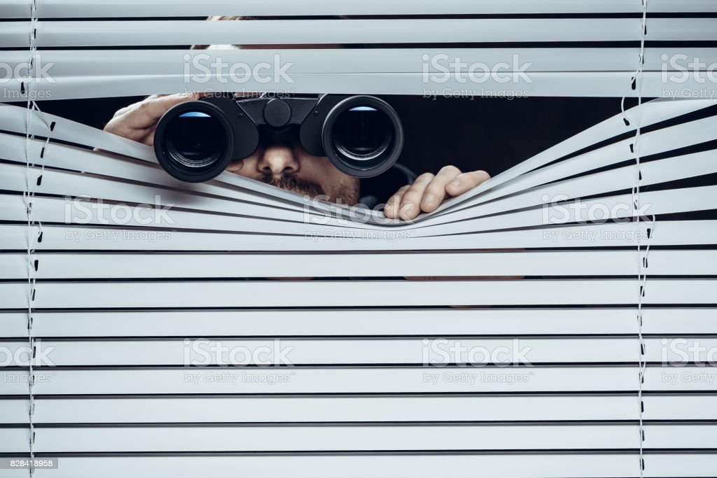 Spy stock photo