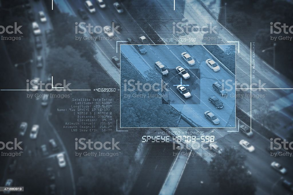 Spy Satellite royalty-free stock photo