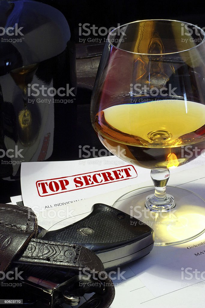 spy sucsess royalty-free stock photo