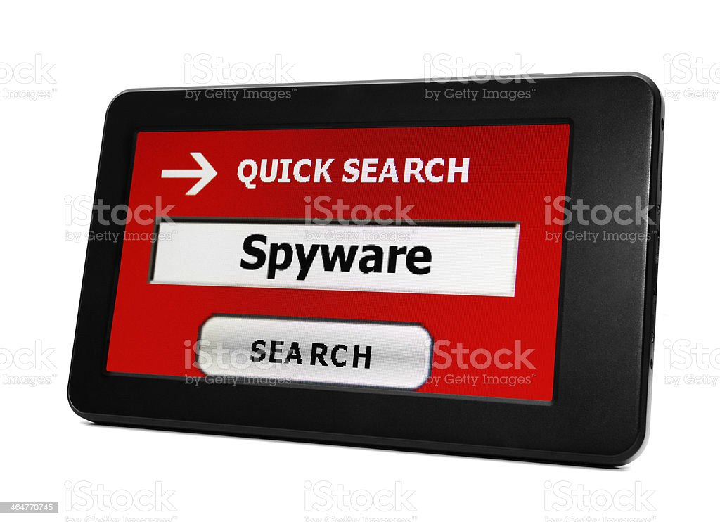 Spyware concept royalty-free stock photo
