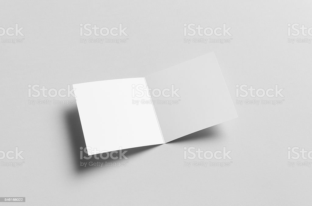 square bifold halffold brochure mockup stock photo more pictures