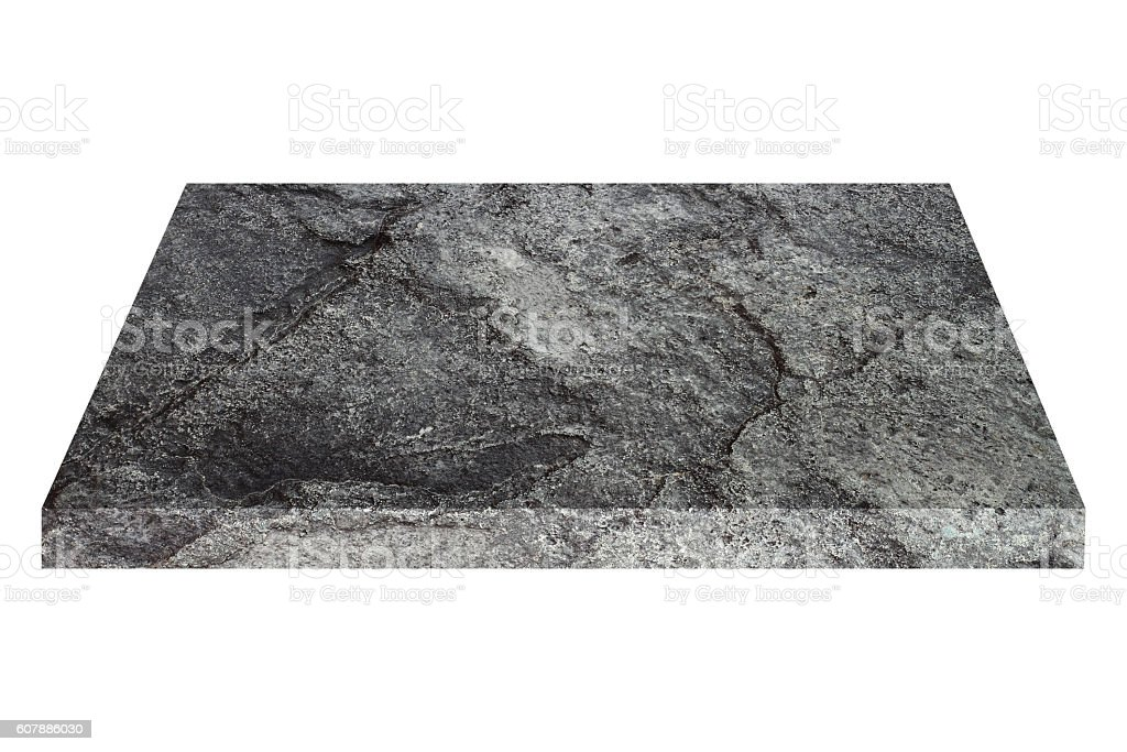 square black stone plate isolated on white stock photo more