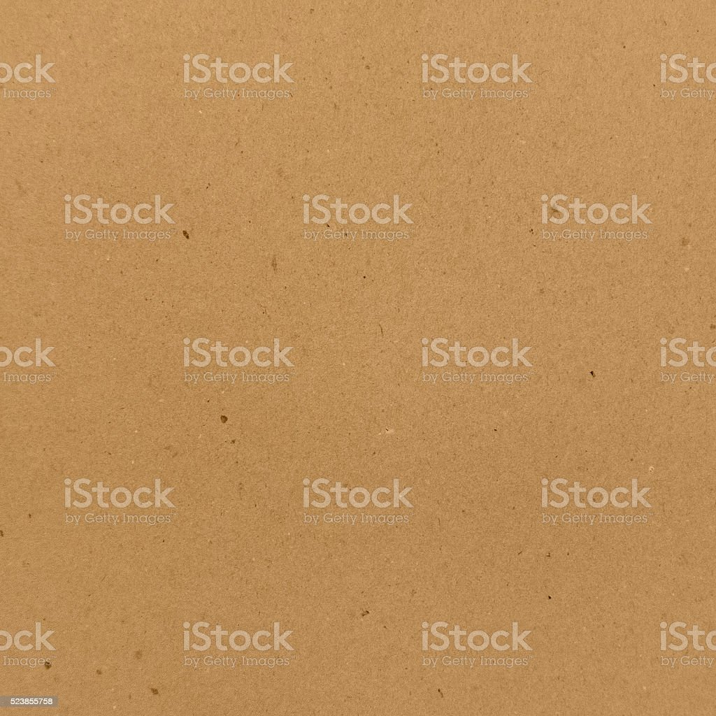 Square clean cardboard texture. stock photo