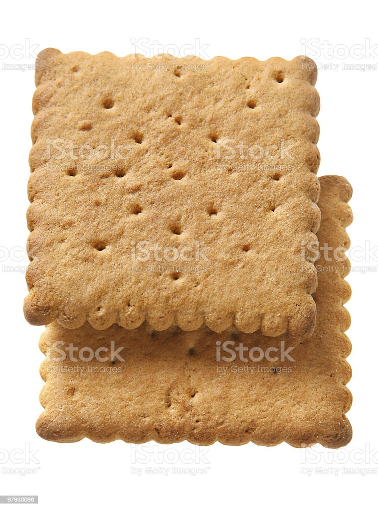 Square cookie royalty-free stock photo