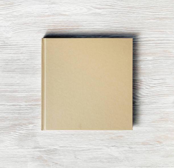 Square cover book stock photo
