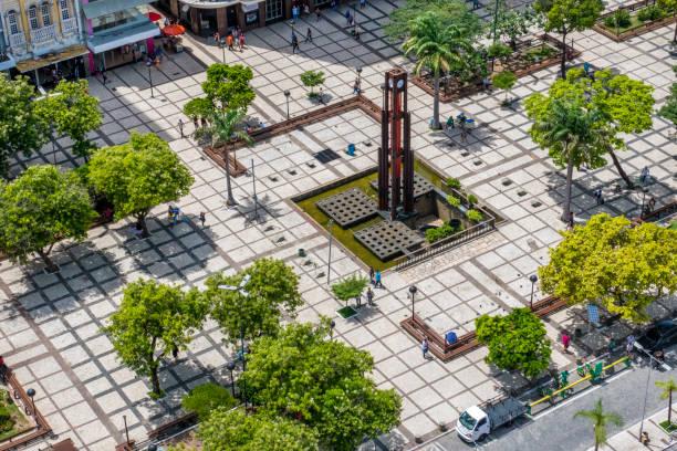Square downtown Fortaleza
