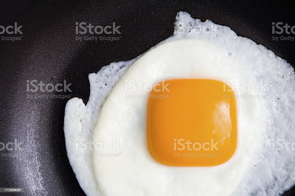 Square eggs stock photo