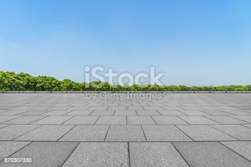 Parking, Stone - Object, Sidewalk, China - East Asia, City