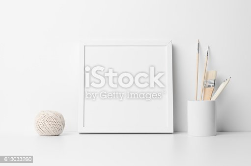 istock Square Frame Mock-Up 613033260