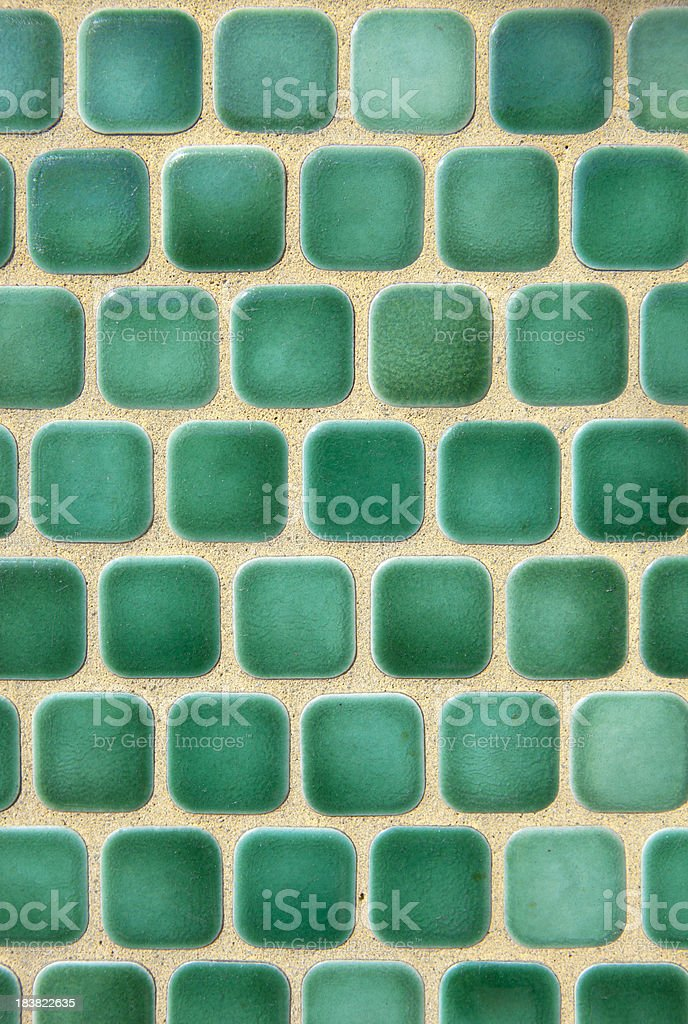 Square Green Tile Background royalty-free stock photo