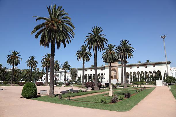 Square in Casablanca, Marokko – Foto