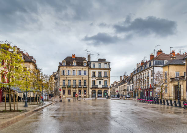 Platz in Dijon, Frankreich – Foto